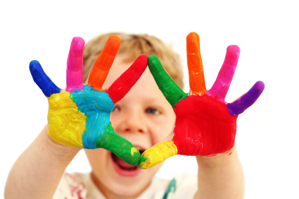 Toddlers - Hand Painting